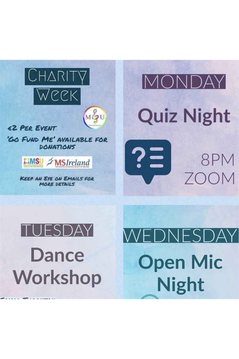 MUMS Charity Week Dance Workshop